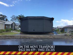 Crane Truck SPA Transport