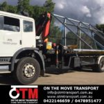 Efficient and reliable crane truck hire and transport solutions.