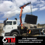 Oversized water tank delivery in Brisbane