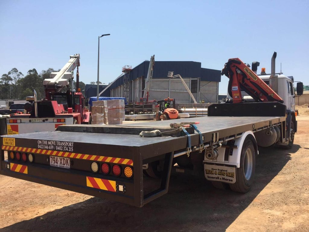 Crane Truck Delivery To South Brisbane