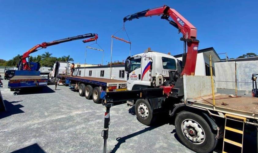 crane truck hire online
