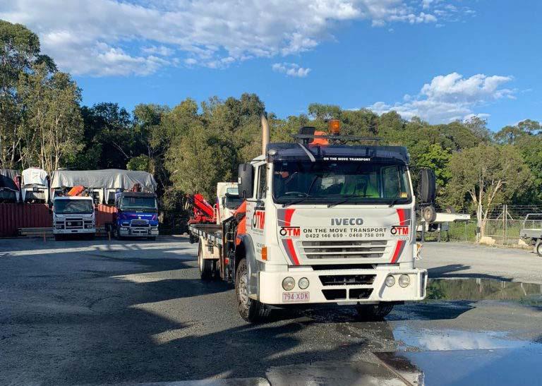 Right Size Crane Truck for Hire in Brisbane