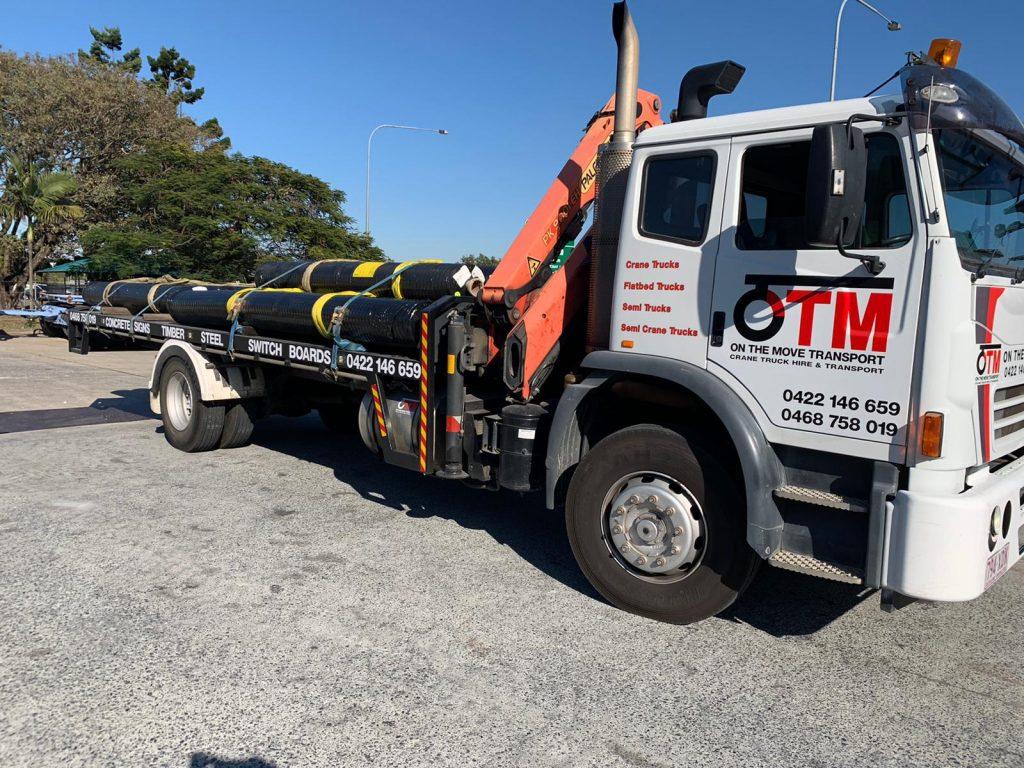hire a crane truck in brisbane