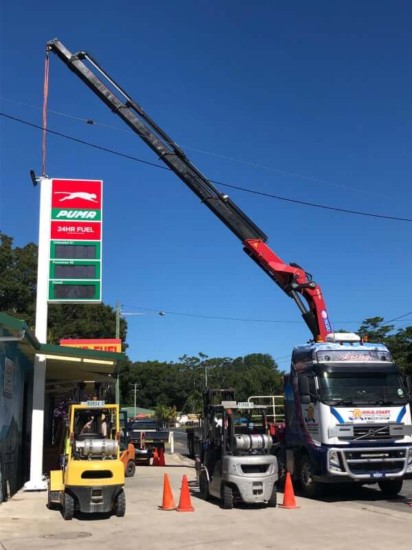 Crane Truck Operator