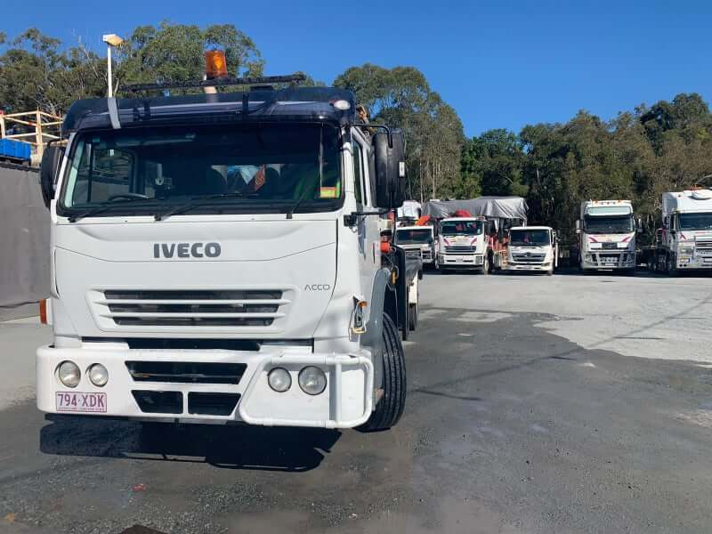 Signalman for Crane Truck
