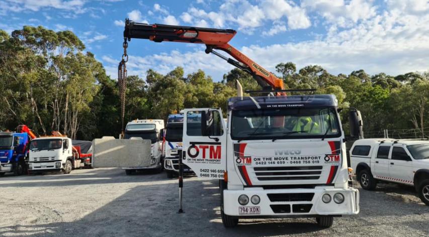 Transport Premium Crane Truck Hire
