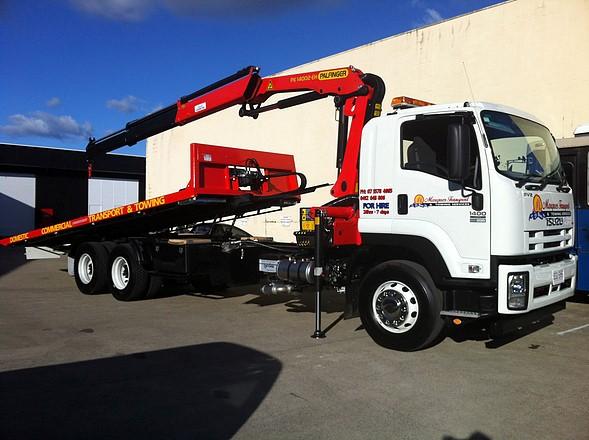 Crane Truck Hire Brisbane for Easy transportation