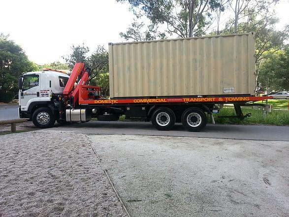 Crane Truck Hire & Transport Services
