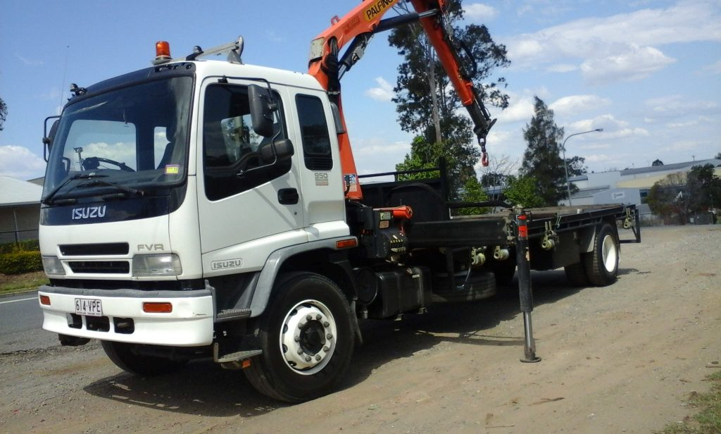 otm transport crane trucks