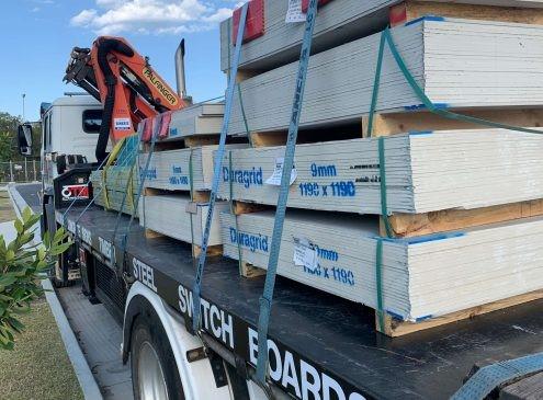 Heavy Load Crane Truck Hire