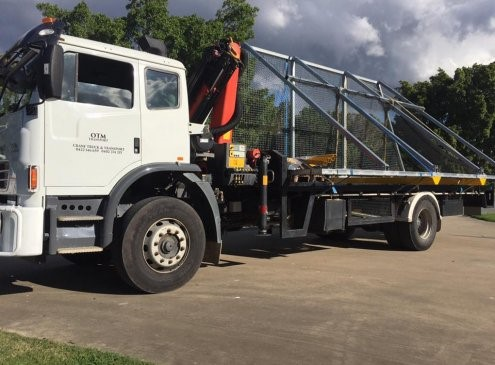 Crane Truck Hire and Transport Solutions