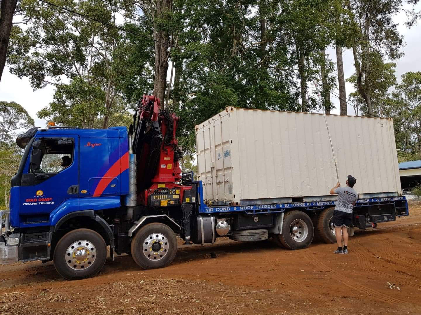 Specialized solutions for Crane Truck Safety
