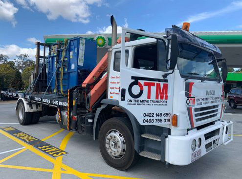 Crane Truck Hire and Transport Services in Australia