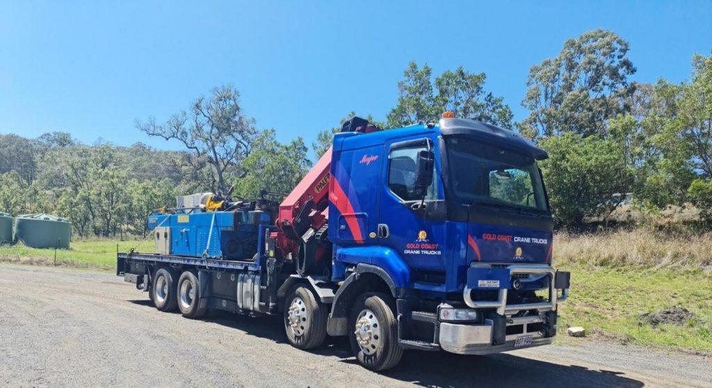 Crane Truck Hire Gold Coast