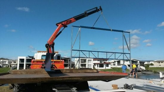 Hire Crane Truck for Construction Projects
