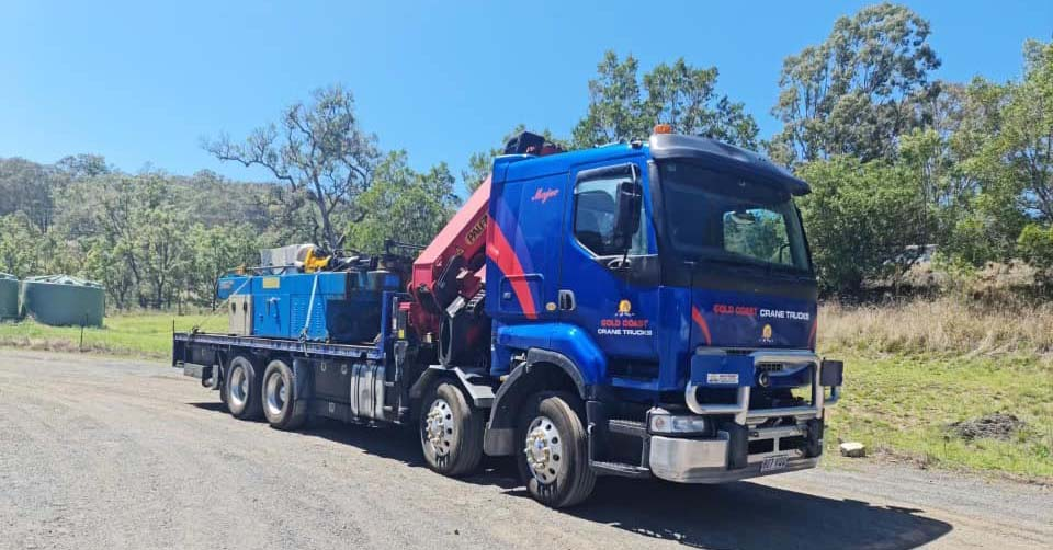 Brisbane crane trucks rental
