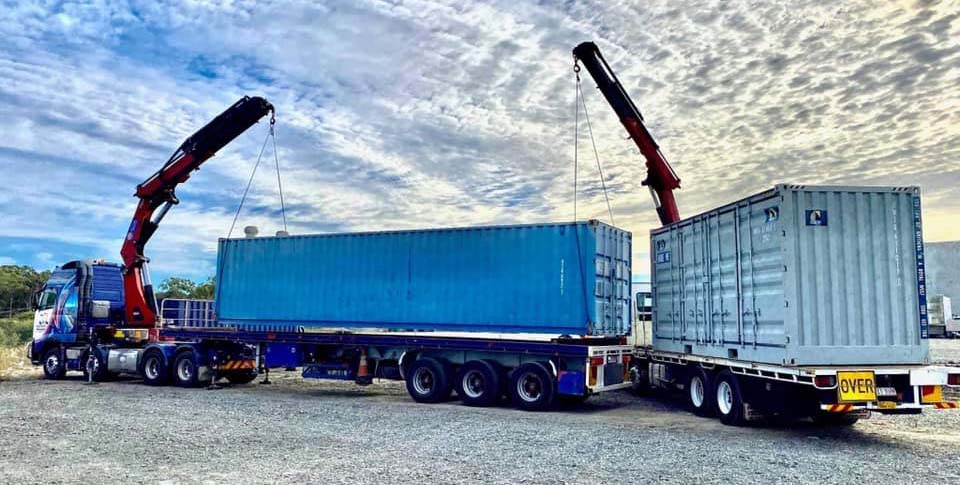 Crane truck hire Brisbane services