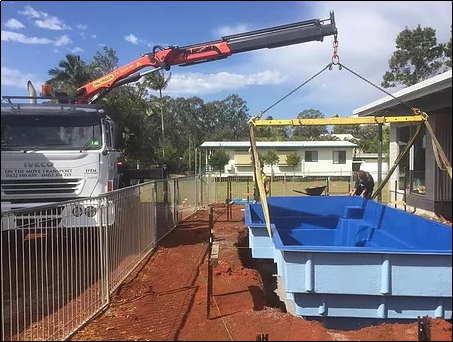 Tips for Choosing the Right Crane Truck Hire Service for Pool Transport