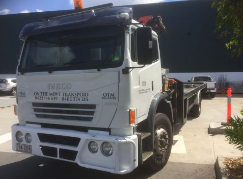 8 tonne crane truck - Services in Brisbane And Gold Coast